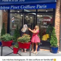 HELENA PINET COIFFURE PARIS - PARIS