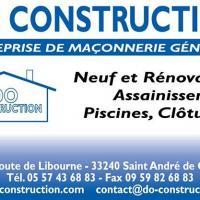 DO Construction SARL - SAINT ANDRÉ DE CUBZAC