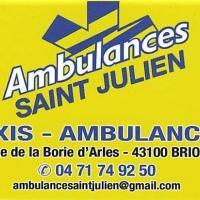 AMBULANCES SAINT JULIEN - BRIOUDE