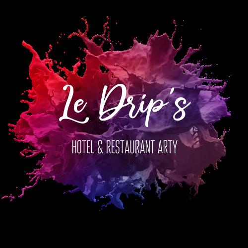 Logo Le Drip's Hôtel & restaurant arty