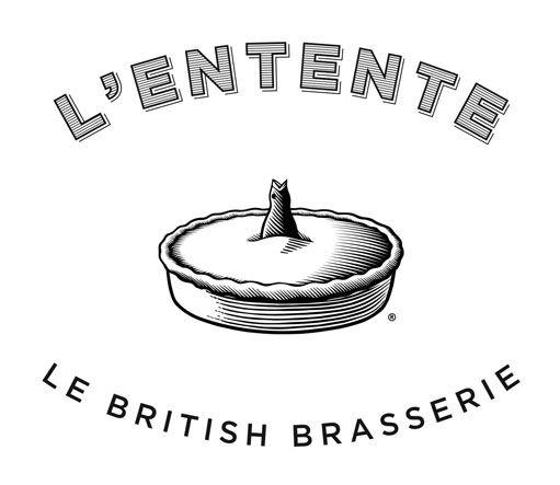 Logo L'Entente Le British Brasserie