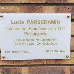 Logo Ostéopathe Biomécanicien Lucie Parseramin