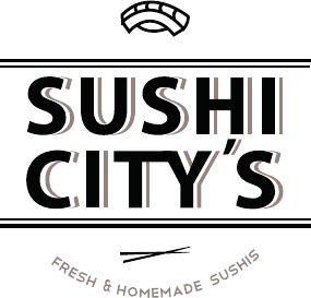 Logo Sushi City's