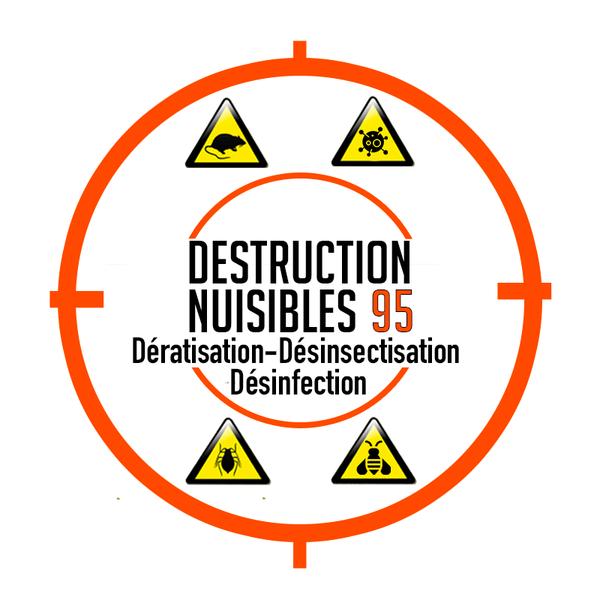 Logo Destruction Nuisibles 95