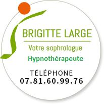 Logo Cabinet de Sophrologie et d'Hypnose Brigitte Large