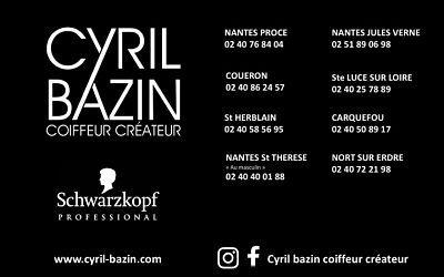 Logo Cyril Bazin Coiffeur Créateur EURL