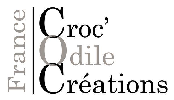 Logo Croc'Odile Créations
