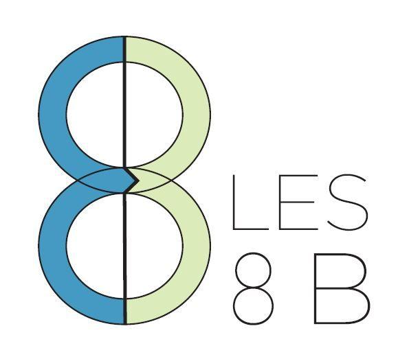 Logo Les 8 B