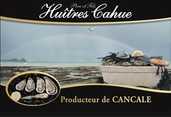 Logo Les Huîtres Cahue EARL