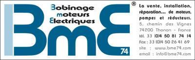 Bme 74 - Bobinage et réparation de matériel électrique professionnel - Thonon-les-Bains