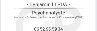 Benjamin Lerda - Psychanalyste - Bourg-en-Bresse