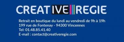 Creative Regie - Matériel photo et vidéo - Vincennes