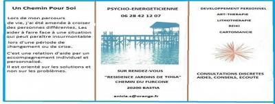 Anicia Pycho-énergéticienne - Conseil en organisation et gestion - Bastia