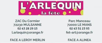 L'Arlequin - Articles de fêtes - Le Mans