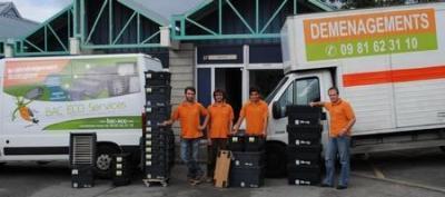 Bac Eco Services - Déblaiement et débarras - Carquefou