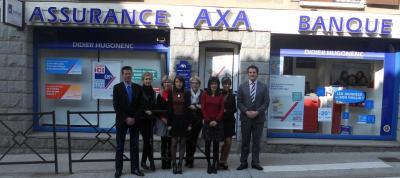 AXA Hugonenc Foretnegre Agent Général - Société d'assurance - Aurillac