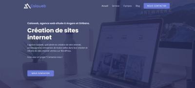 Calaweb - Création de sites internet et hébergement - Orléans