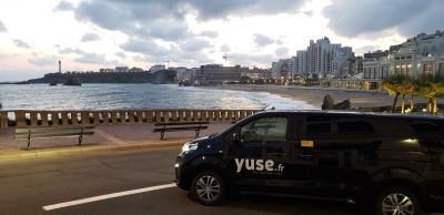 YUSE Application VTC Landes Pays Basque - Location d'automobiles avec chauffeur - Biarritz