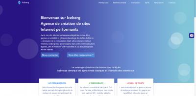 Iceberg Agence Web - Création de sites internet et hébergement - Paris