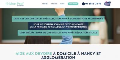 Mon Prof A Domicile-nancy - Soutien scolaire et cours particuliers - Nancy
