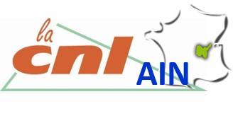Confédération Nationale du Logement Fédération de l'Ain CNL de l'Ain - Associations de consommateurs et d'usagers - Bourg-en-Bresse