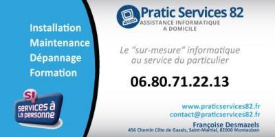 Pratic Services 82 - Dépannage informatique - Montauban
