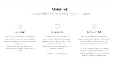 Mobil-Tek - Vente de téléphonie - Dijon
