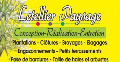 Letellier Paysage - Aménagement et entretien de parcs et jardins - Léaupartie