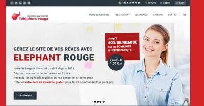 Elephant Rouge - Création de sites internet et hébergement - Vannes