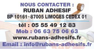 Ruban Adhésif - Imprimerie et travaux graphiques - Limoges