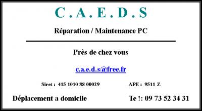Caeds - Dépannage informatique - Beauvais