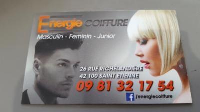 Energie Coiffure - Coiffeur - Saint-Étienne