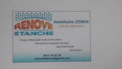 Renove Etanche - Entreprise d'étanchéité - Toulon