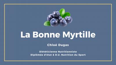 La Bonne Myrtille Chloé Dugas Diététicienne Nutritionniste - Diététicien - Muret