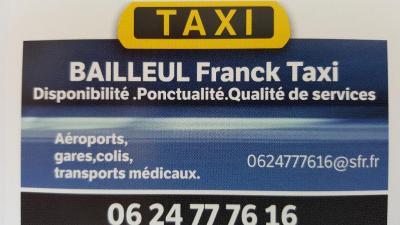 Bailleul Franck Taxi - Taxi - Elbeuf