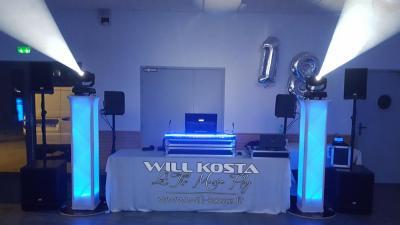 DJ Will Kosta - Animation artistique - Thonon-les-Bains