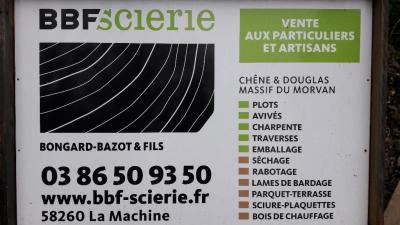 Bongard Bazot et Fils BBF - Scierie - La Machine