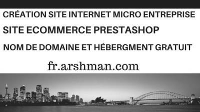 Arshman Webs - Création de sites internet et hébergement - Orléans