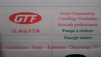 GTF Gardoise Thermique Frigorifique - Installations frigorifiques - Nîmes
