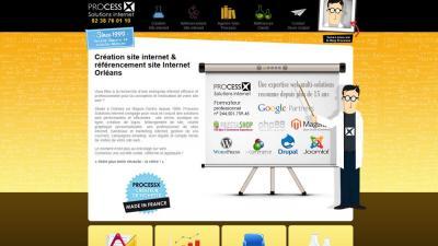 Processx Solutions Internet - Création de sites internet et hébergement - Orléans