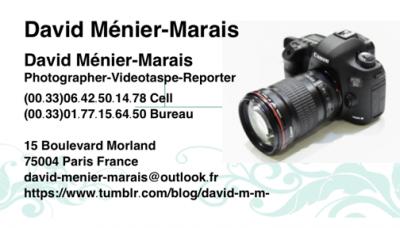 Menier-Marais Samantha - Photographe de portraits - Paris