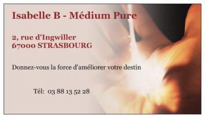 Isabelle B, Médium Pure - Voyance et cartomancie - Strasbourg