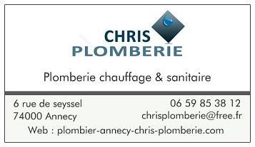 Chris Plomberie - Plombier - Annecy