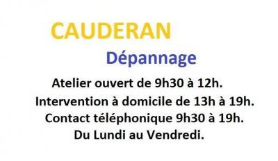 Cauderan Depannage - Dépannage d'électroménager - Bordeaux