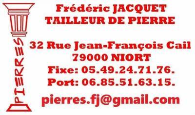 Pierres Jacquet - Tailleurs de pierres - Niort