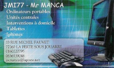 Manca Joffrei JMI77 - Dépannage informatique - La Ferté-sous-Jouarre