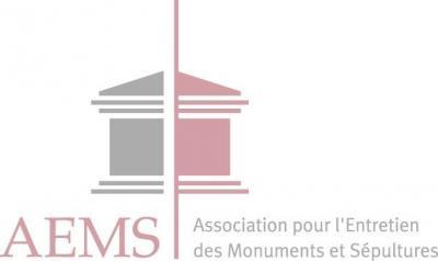 A . E . M . S Association pour l'Entretien des Monuments et Sépultures - Marbrier funéraire - Paris