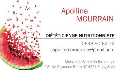 Apolline MOURRAIN - Diététicien - L'Etang-Salé