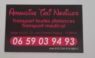 Amandine Taxi - Taxi - Brive-la-Gaillarde