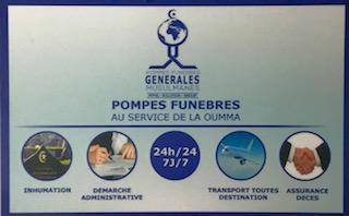 PFMG Niya - Pompes funèbres - Évry